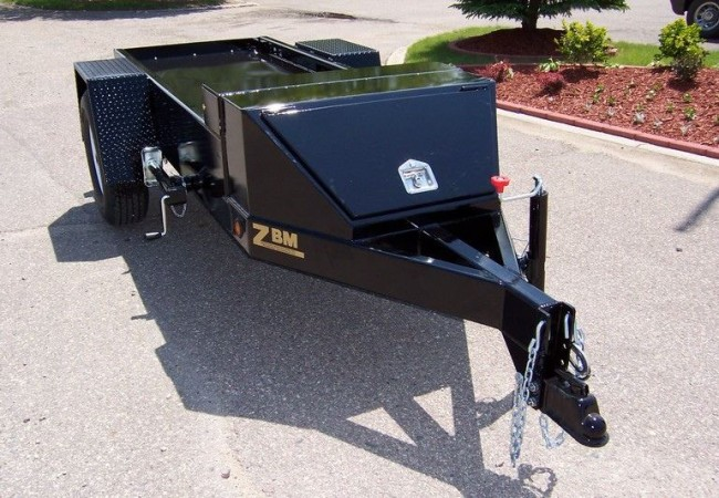 ZBM Trailers for Generator Sets
