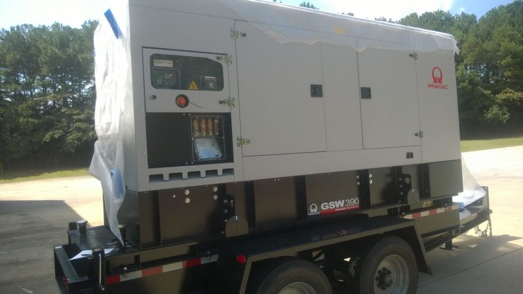 Trailers for Generator Sets