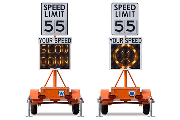 Radar Sign Trailers