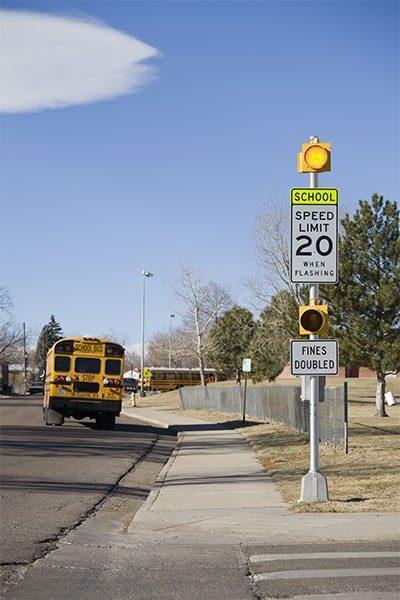 WCBSZ-55-3L-T School Zone Light
