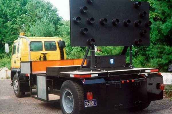 Skid Mounted Arrow Boards Rigid Skid