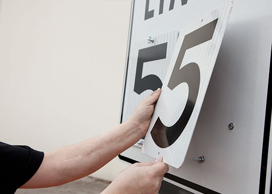 WSDT3-S Manual Speed Limit Numbers