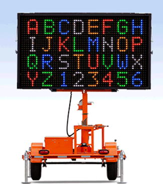 WVTM-5C Color Message Boards