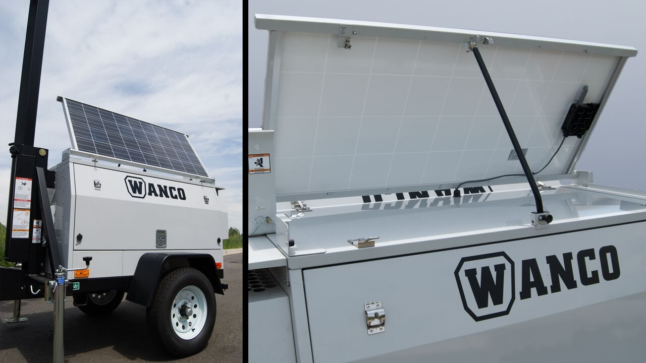 WCT Portable Video Surveillance Trailers
