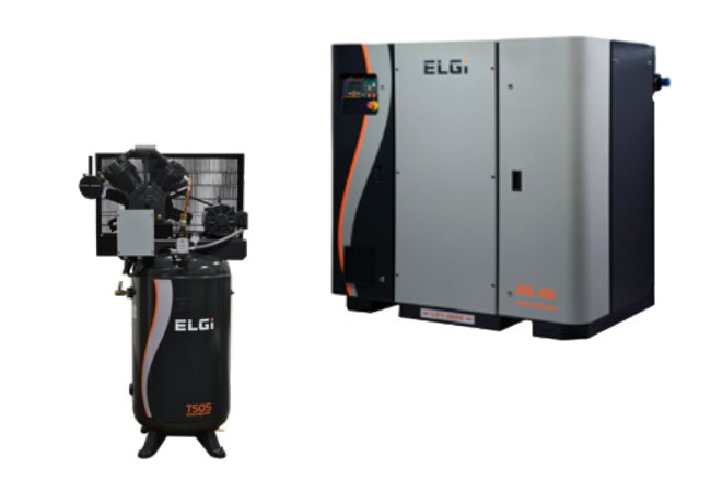 ELGI Electric Rotary Screw and Electric Gas Air Compressors