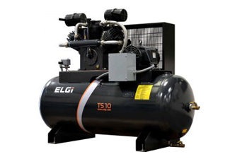 Lubricating Reciprocating Industrial Air Compressor