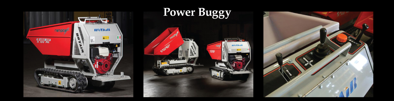 Power Millenium Products | Buggy Rotair RampiCar R100