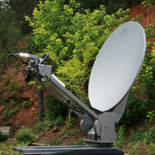 SATELLITE COMMUNICATION TRAILER