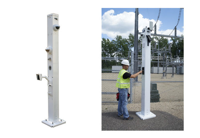 Portable Gate Access Platform