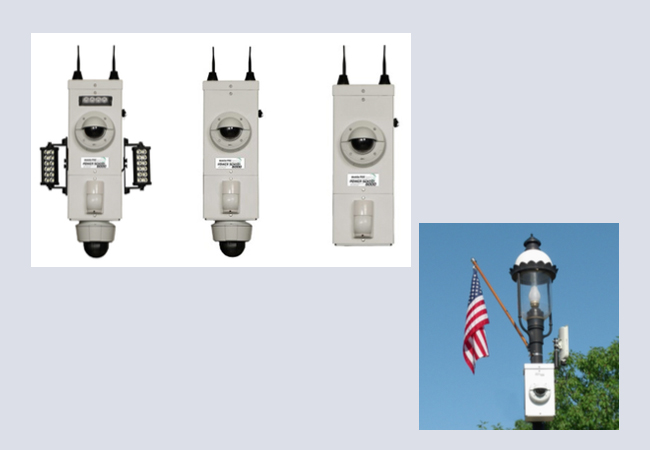 Pole Or Wall Mount Surveillance Millenium Products
